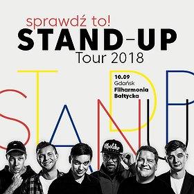 Inne: Sprawdź to! Stand-up Tour 2018 - Gdańsk