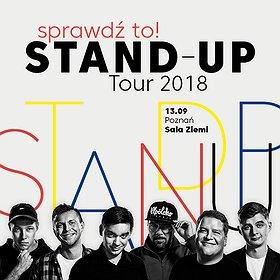 Stand-up: Sprawdź to! Stand-up Tour 2018 - Poznań