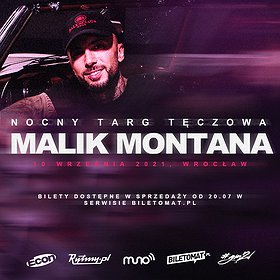 Hip Hop / Reggae: Malik Montana   Wrocław
