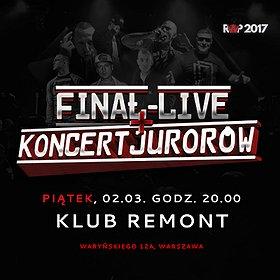 Koncerty:  Finał Konkursu Rwp2017 + Koncert Jurorów