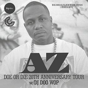 Koncerty: AZ Doe Or Die 20th Anniversary Tour w/DJ DOO WOP