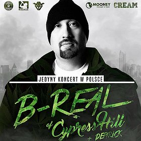 Concerts: B-REAL of CYPRESS HILL we Wrocławiu!