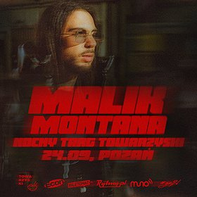 Hip Hop / Reggae: Malik Montana   Poznań