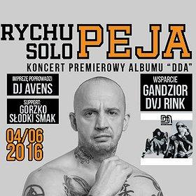 "Hip Hop / Reggae: Rychu Peja Solo Premiera albumu ""DDA"""