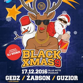 Koncerty: Black Xmas 9 Gedz/Żabson/Guzior