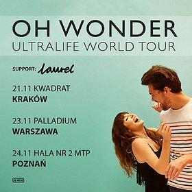 Koncerty: Oh Wonder - Poznań