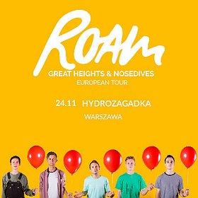 Koncerty: Roam - Warszawa