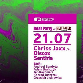 Imprezy: Boat Party w. Beefeater PINK