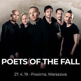 Koncerty: Poets Of The Fall - Warszawa