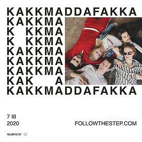 Koncerty: KAKKMADDAFAKKA / 7.03 / WARSZAWA