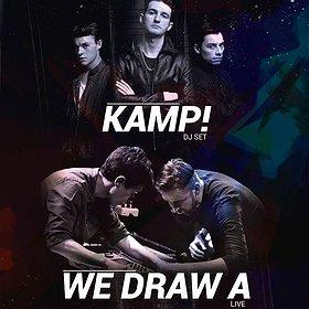 Concerts: We Draw A - live & KAMP! - dj set