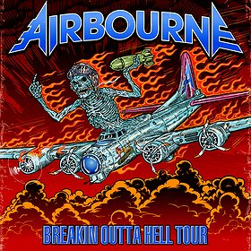 Koncerty: Airbourne
