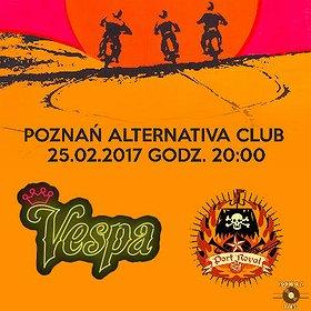 Koncerty: Vespa + Port Royal