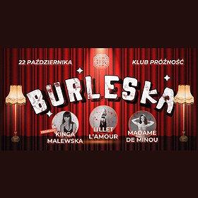 Imprezy: Burleska w Próżności | Taniec, Miłość i Koktajle - wydarzenie odwołane