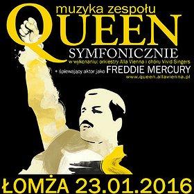 Concerts: Queen Symfonicznie w Łomży
