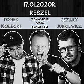 Stand-up: Stand-up Reszel: Jurkiewicz x Kołecki x Brudzewski