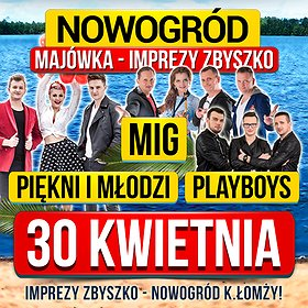 Imprezy: Majówka Disco w Nowogrodzie