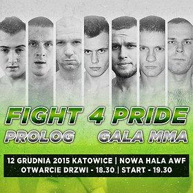 Rekreacja: GALA MMA FIGHT 4 PRIDE