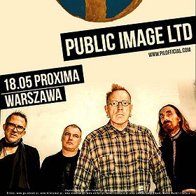 Koncerty: Public Image Ltd.