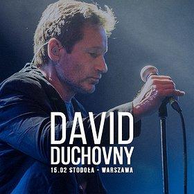 Koncerty: David Duchovny