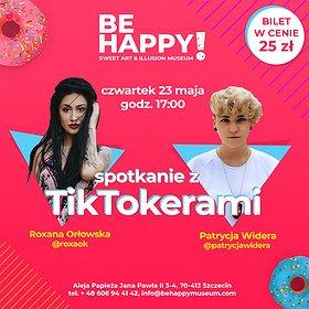 Inne: Spotkanie z TikTokerami - Roxana Orłowska & Patrycja Widera