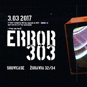 Events: ERROR 303 with Dave The Drummer