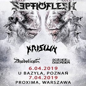 Koncerty: SEPTICFLESH - Warszawa