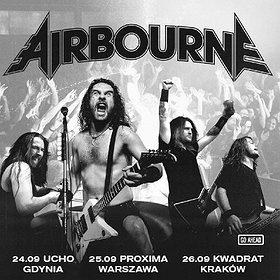 Hard Rock / Metal: Airbourne - Warszawa