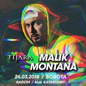 Koncerty: Malik Montana - Radom