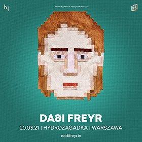 Pop / Rock: Dadi Freyr - KONCERT ODWOŁANY