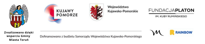 Zrealizowano dzięki wsparciu Gminy Miasta Toruń